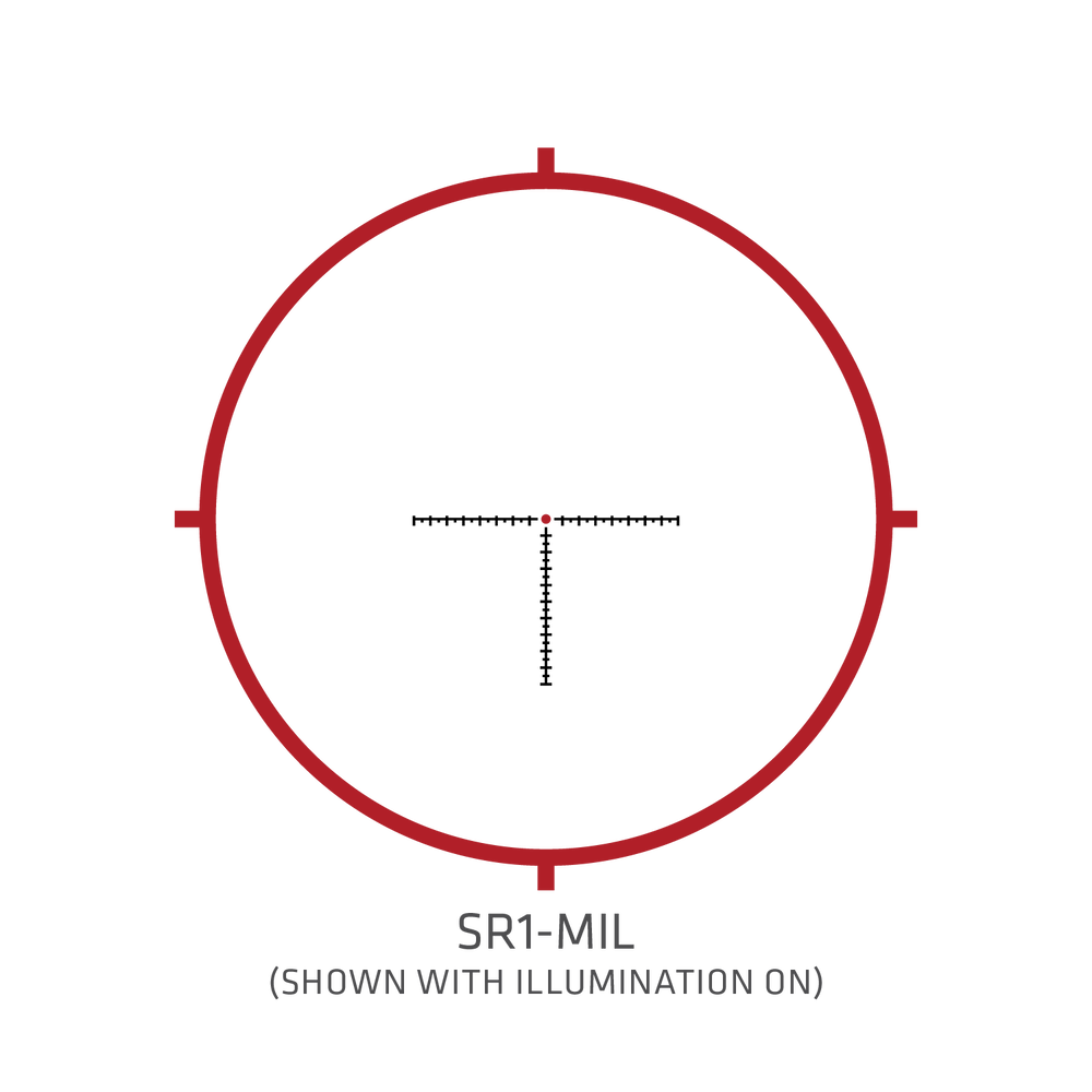 CTL-5108 5-Series Tactical Riflescope 1-8x28mm MIL/MIL FFP