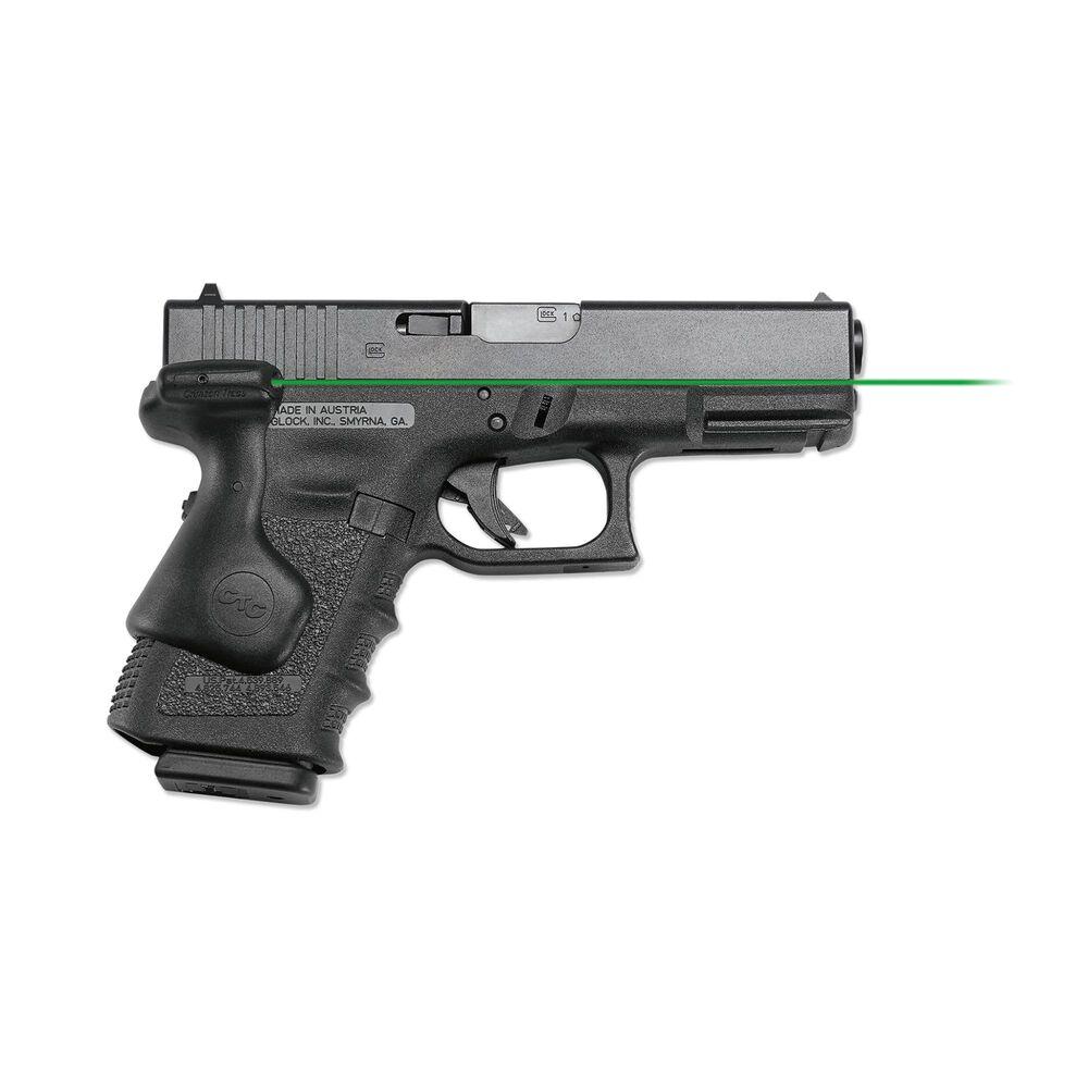 LG-639G Green Lasergrips® for GLOCK Gen3, Gen4 & Gen5 Compact