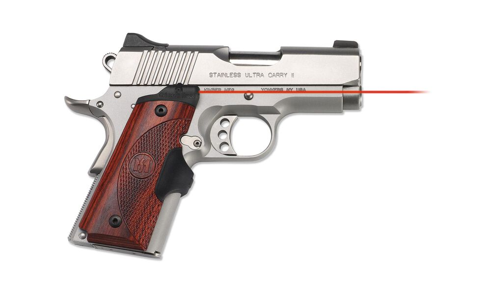 LG-902 Master Series™ Lasergrips® Rosewood for 1911 Compact
