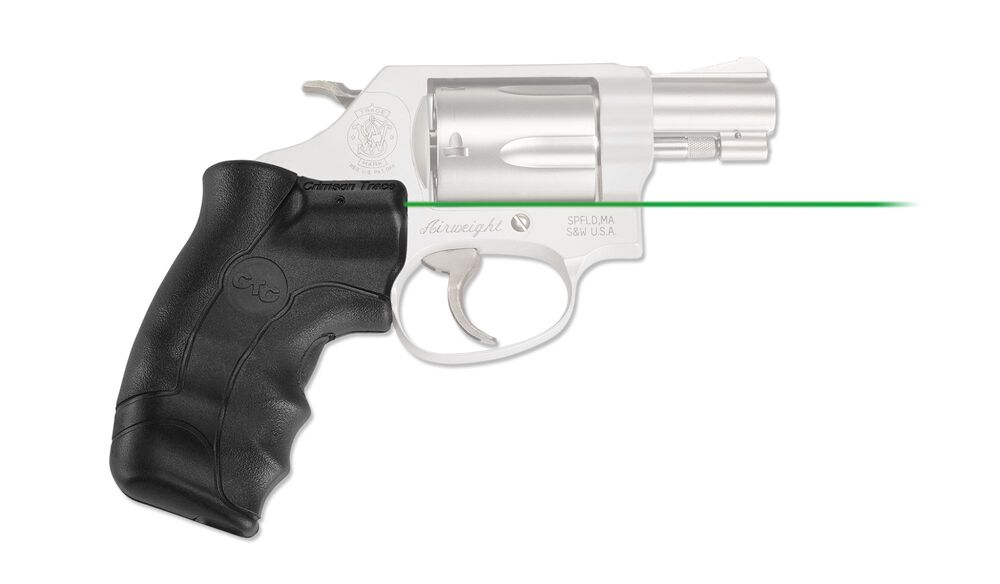 LG-350G Green Lasergrips® for Smith & Wesson J-Frame Round Butt