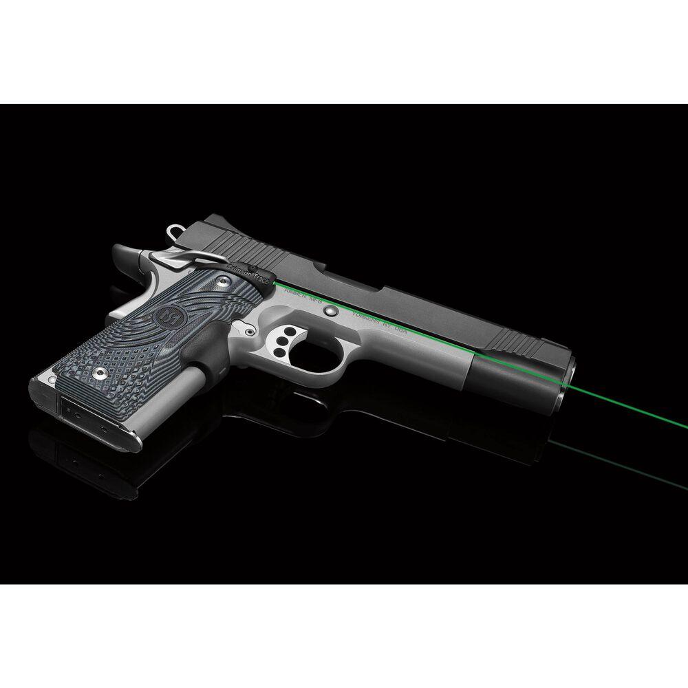 LG-904G Green Master Series™ Lasergrips® G10 Black/Grey for 1911 Full-Size