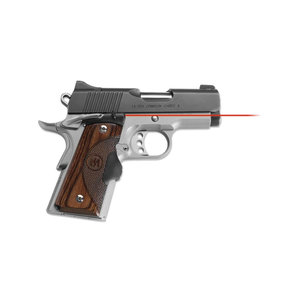 LG-909 Master Series™ Lasergrips® Walnut for 1911 Compact