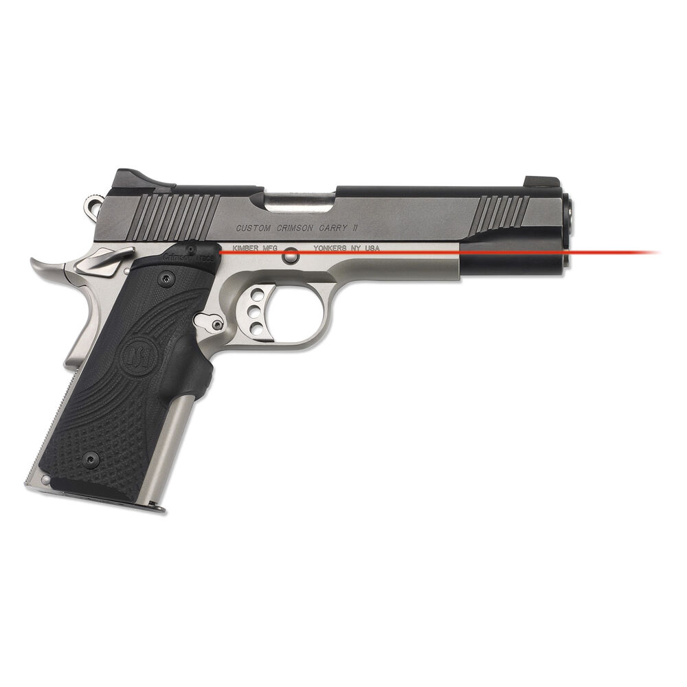 LG-919 Master Series™ Lasergrips® G10 Black for 1911 Full-Size
