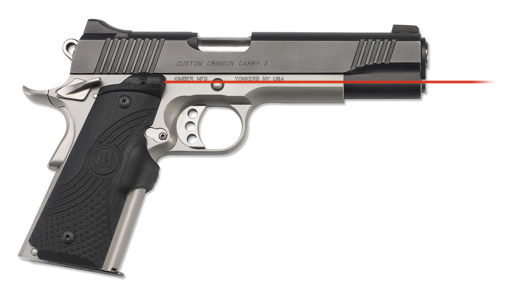 LG-919 Master Series™ Lasergrips® G10 Black for 1911 Full-Size