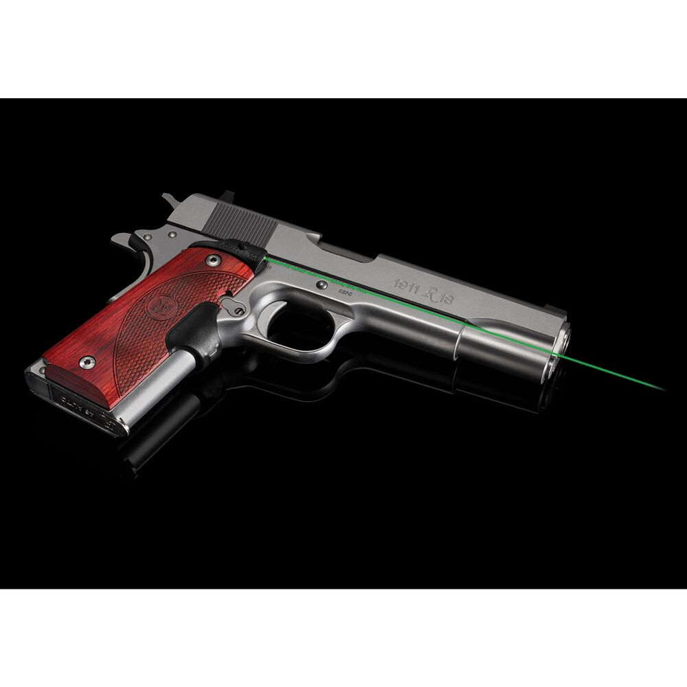 LG-901G Green Master Series™ Lasergrips® Rosewood for 1911 Full-Size