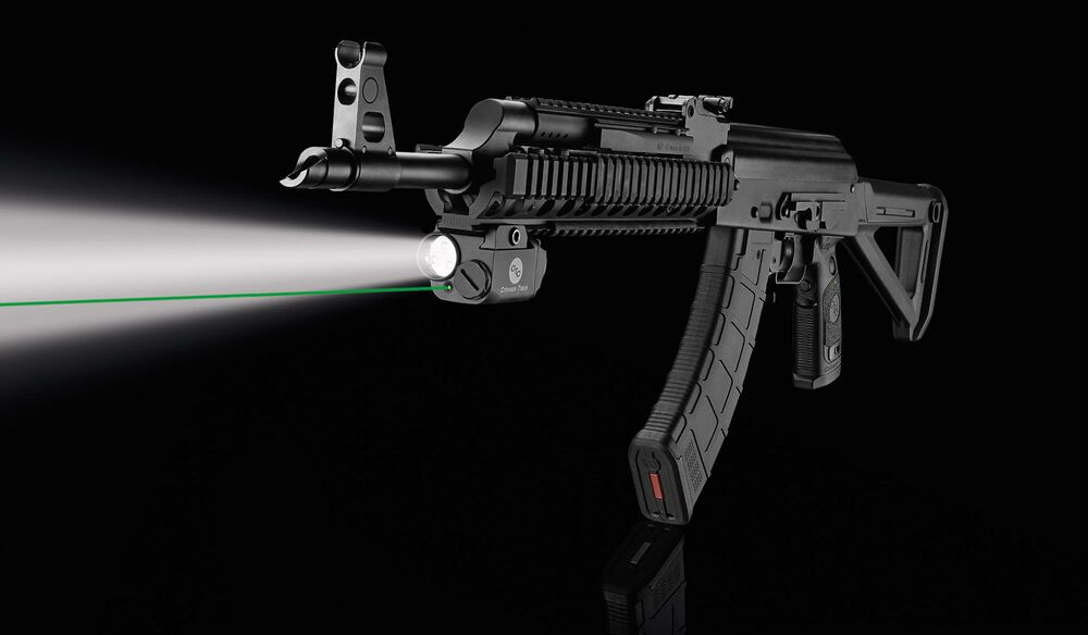 LNQ-103G LiNQ™ Wireless Green Laser Sight & Tactical Light for AK-Type Rifles