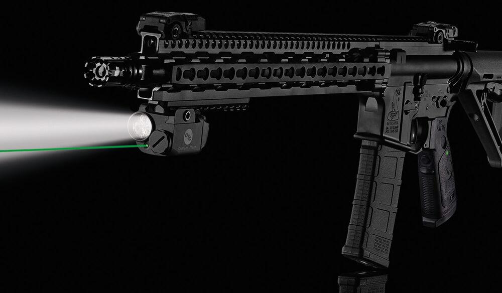 LNQ-100G LiNQ™ Wireless Green Laser Sight & Tactical Light for AR-Type Rifles