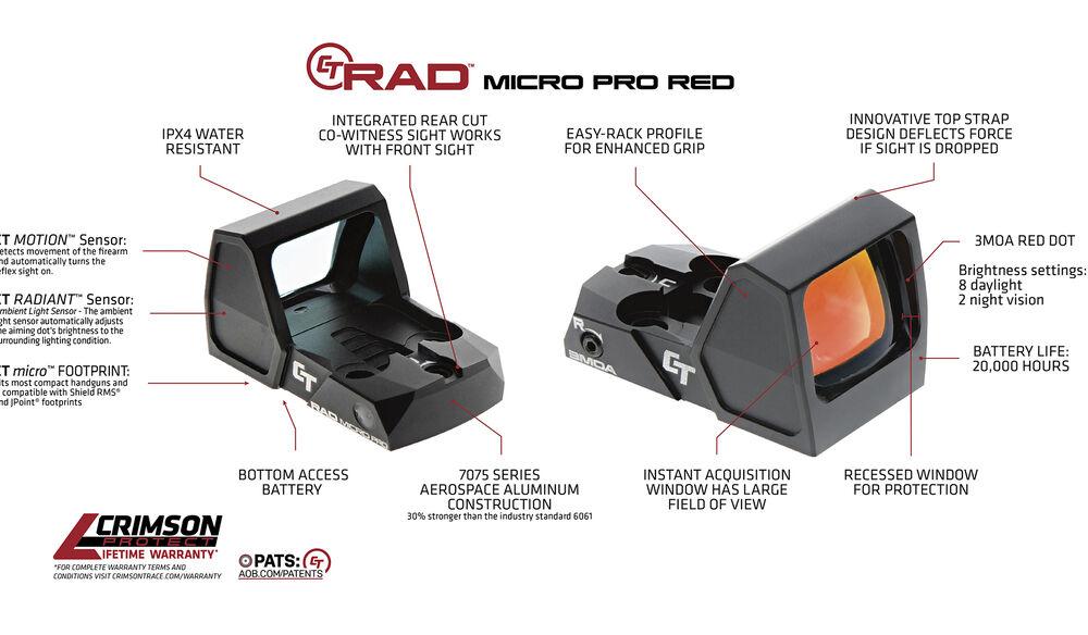 CT RAD™ MICRO PRO (Red)