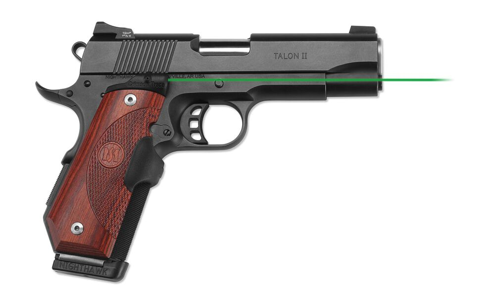 LG-903G Green Master Series™ Lasergrips® Rosewood for 1911 Bobtail®