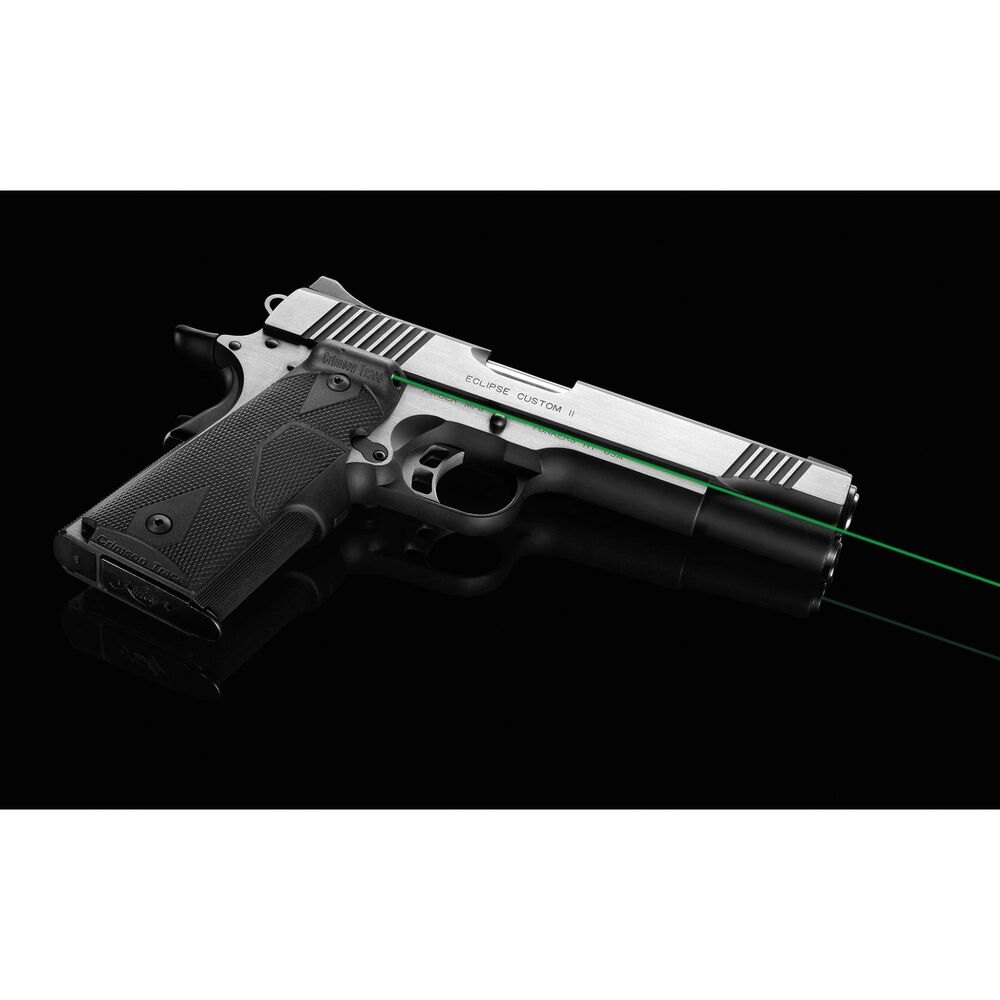 LG-401G Front Activation Green Lasergrips® for 1911 Full-Size