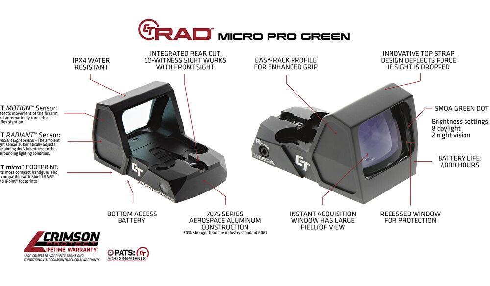 CT RAD™ MICRO PRO (Green)