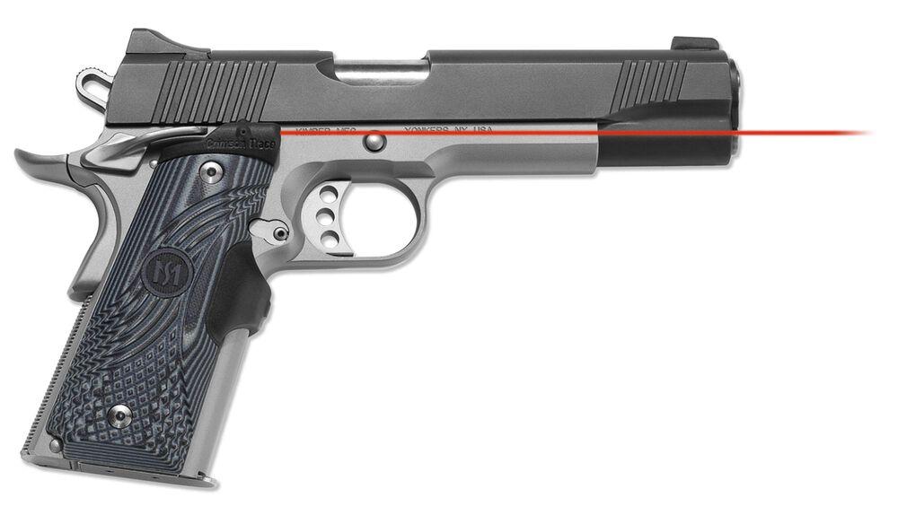 LG-904 Master Series™ Lasergrips® G10 Black/Gray for 1911 Full-Size