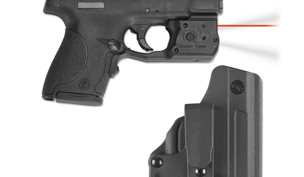 LL-801-HBT Laserguard® Pro™ with Blade-Tech IWB Holster for Smith & Wesson M&P Shield 9mm & .40 S&W