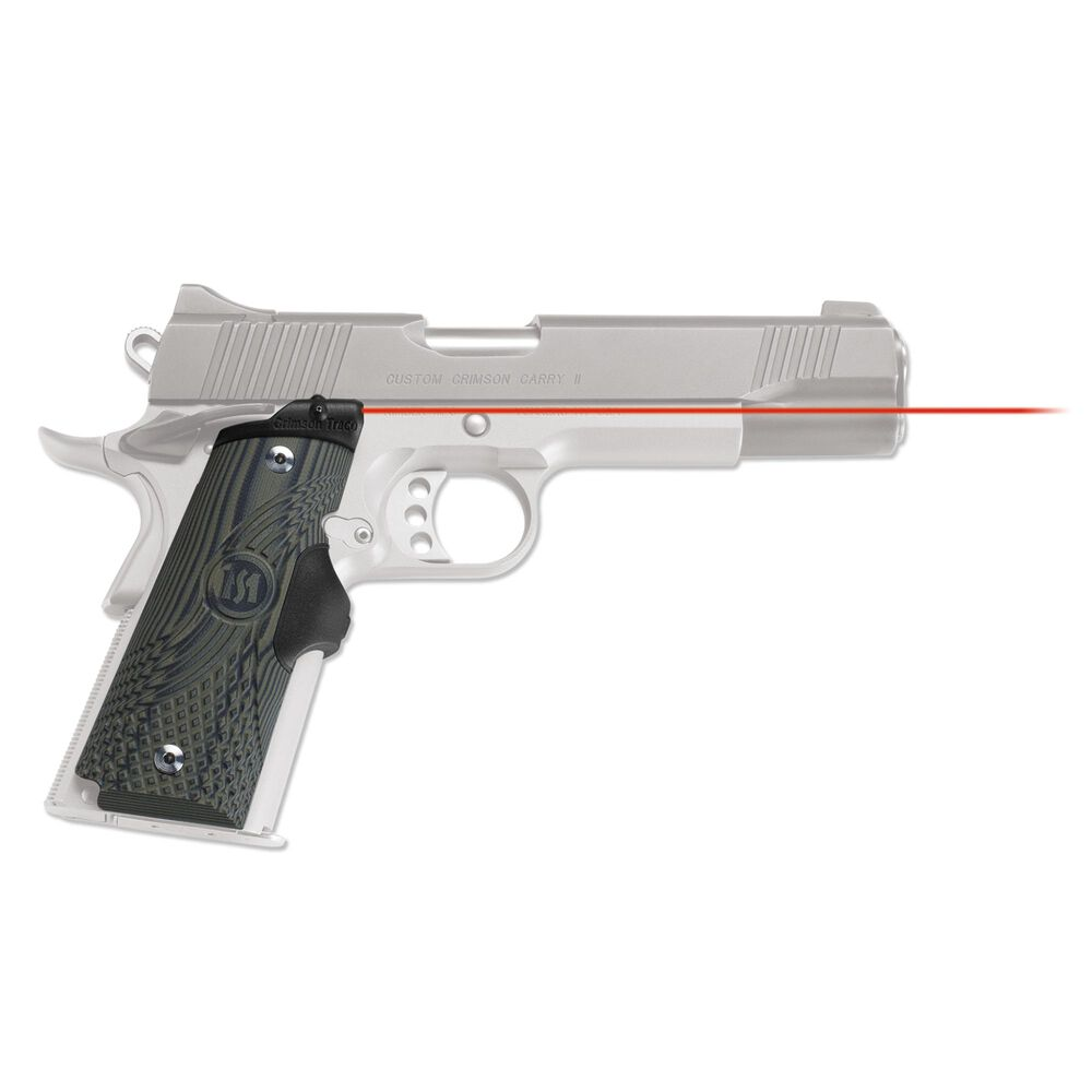 LG-910 Master Series™ Lasergrips® G10 Green for 1911 Full-Size