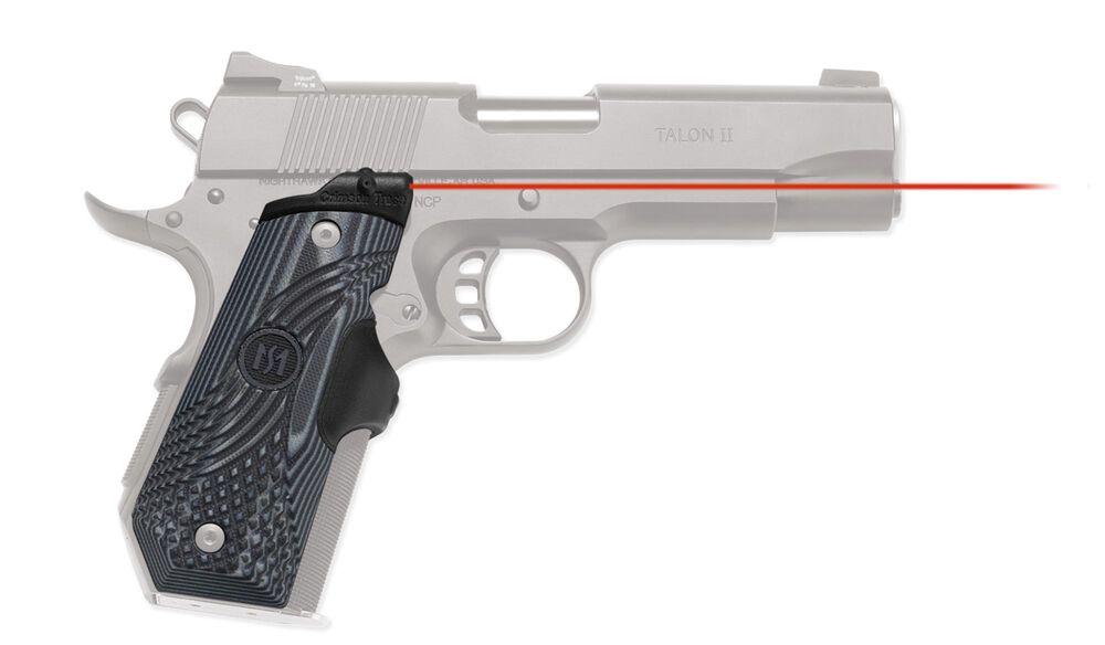 LG-906 Master Series™ Lasergrips® G10 Black/Gray for 1911 Bobtail®