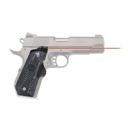 LG-906 Master Series™ Lasergrips® G10 Black/Gray for 1911 Bobtail®