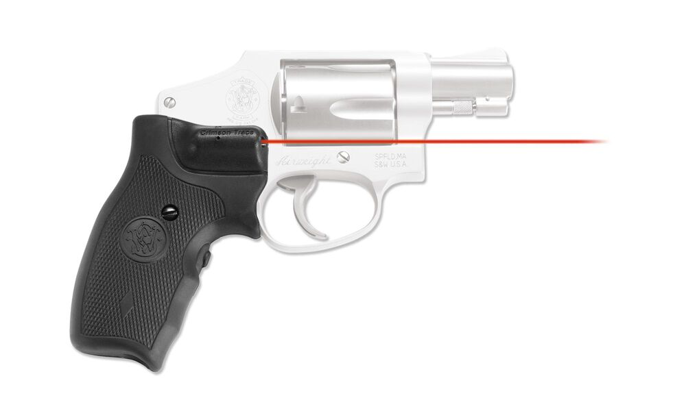 LG-305 Lasergrips® for Smith & Wesson J-Frame Round Butt (Extended Grip)