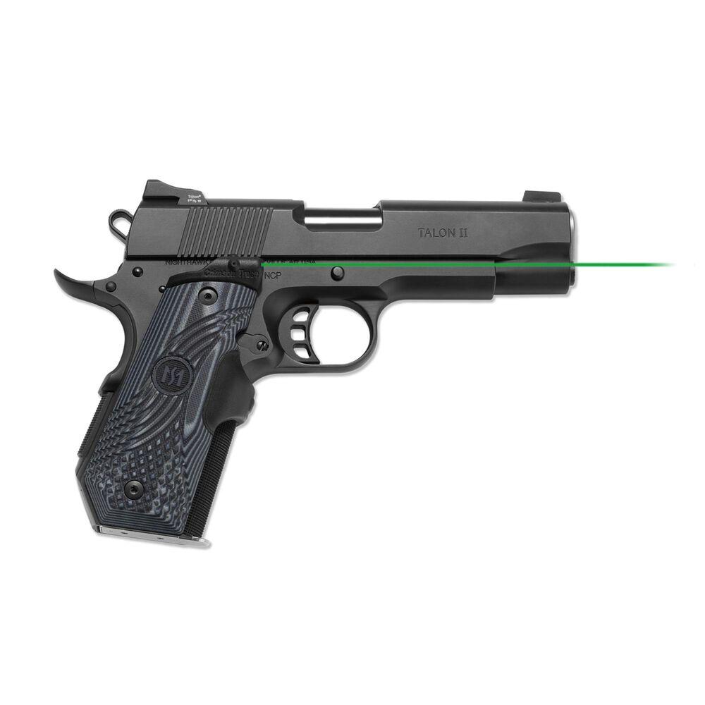 LG-906G Green Master Series™ Lasergrips® G10 Black/Gray for 1911 Bobtail®