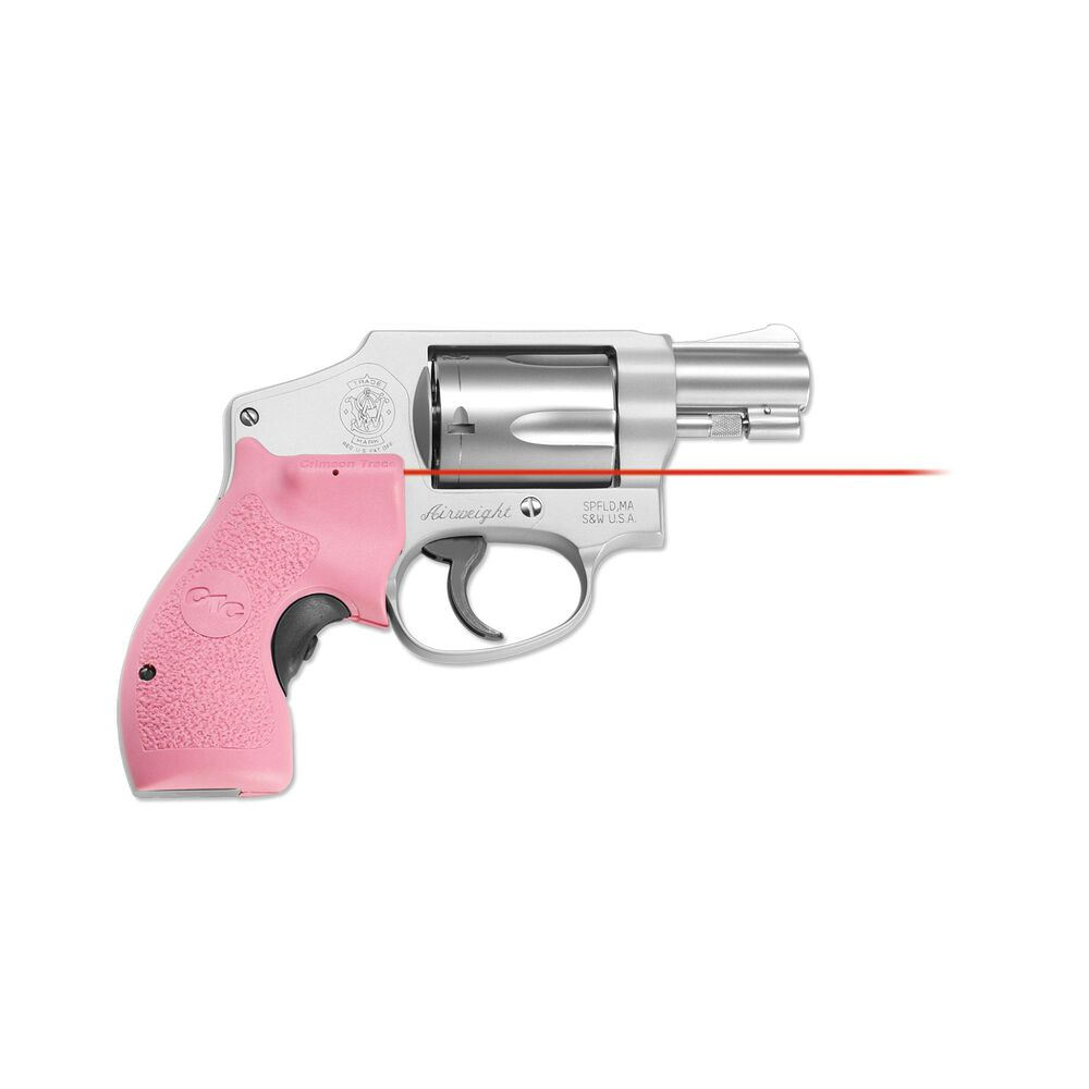 LG-105 Pink Lasergrips® for Smith & Wesson J-Frame Round Butt (Polymer Grip)