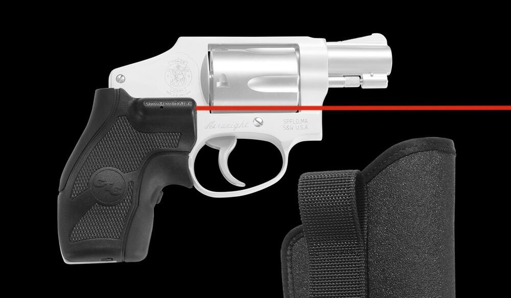 LG-405H Lasergrips® with IWB Holster for Smith & Wesson J-Frame Round Butt (Compact Grip)
