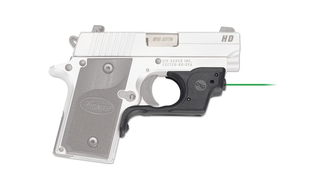 LG-492G-HBT Green Laserguard® with Blade-Tech IWB Holster for Sig Sauer P238 & P938