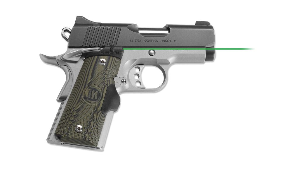 LG-911G Green Master Series™ Lasergrips® G10 Green for 1911 Compact [DISCONTINUED]