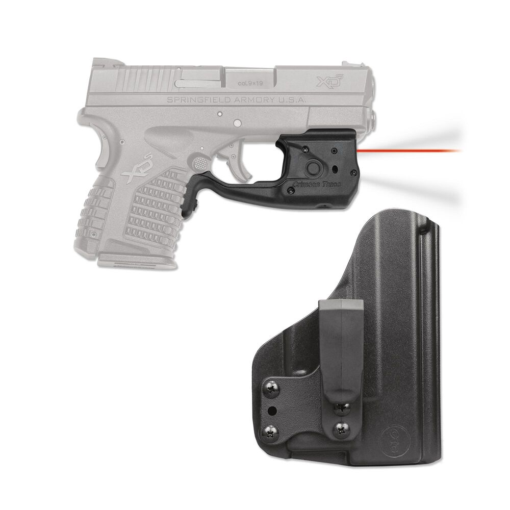 LL-802-HBT Laserguard® Pro™ with Blade-Tech IWB Holster for Springfield Armory XD-S