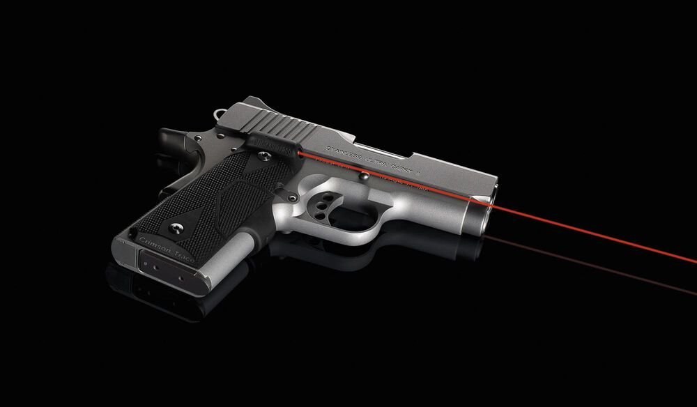 LG-404 Front Activation Lasergrips® for 1911 Compact