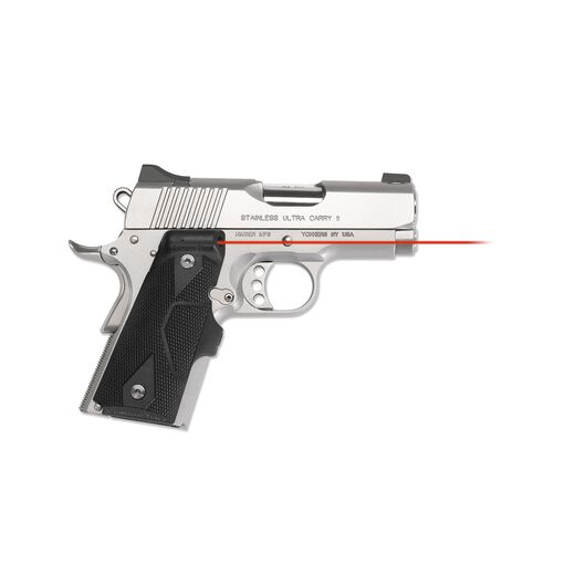 LG-404 KMI Front Activation Lasergrips® Slate Gray with Kimber® Logo for 1911 Compact [Discontinued]