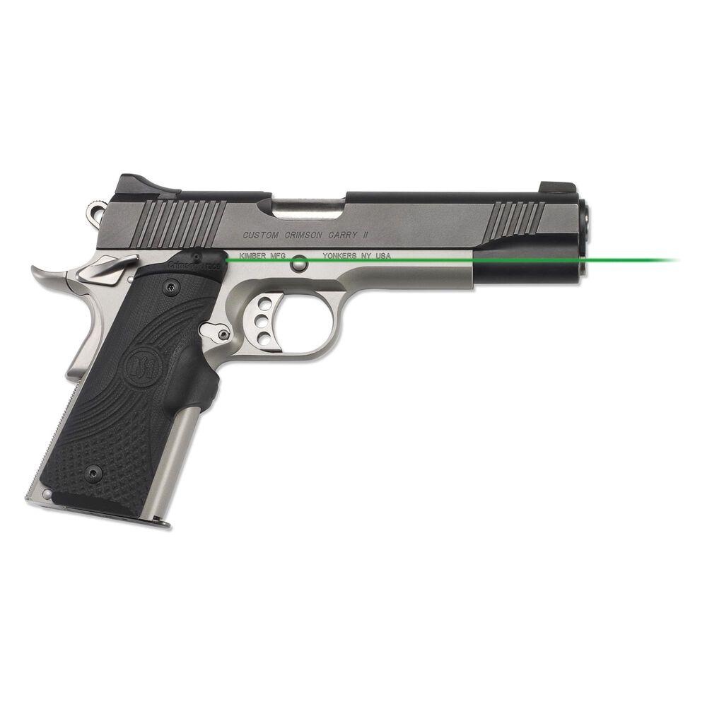 LG-919G Green Master Series™ Lasergrips® G10 Black for 1911 Full-Size
