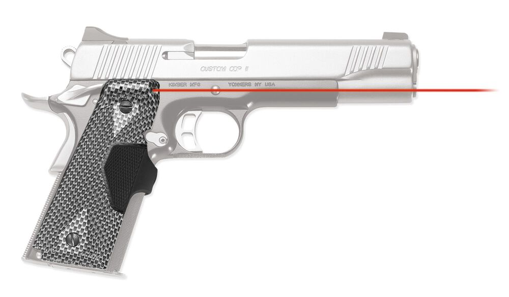 LG-401 P14 Pro-Custom™ Lasergrips® Chainmail III Finish for 1911 Full-Size [DISCONTINUED]