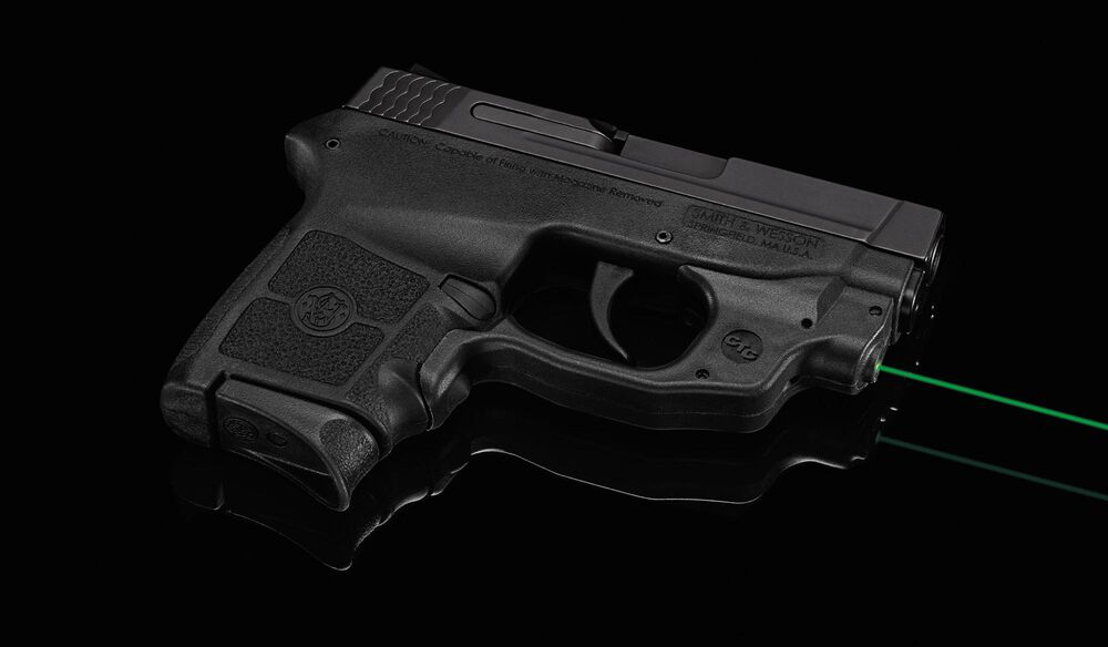 LG-454G Green Laserguard® for Smith & Wesson M&P Bodyguard .380