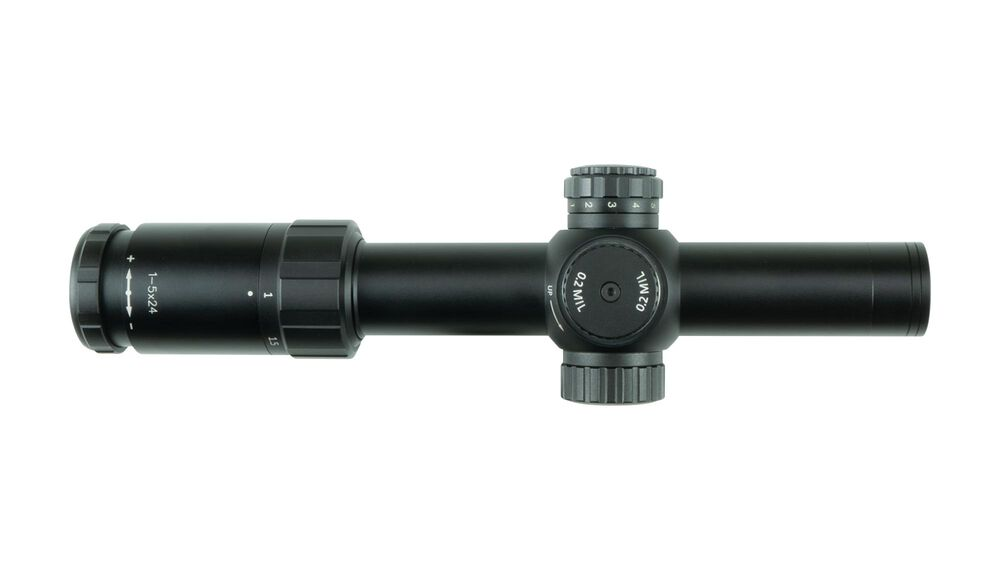 CTL-3105 3-Series™ Tactical Riflescope 1-5x24mm MIL/MIL FFP