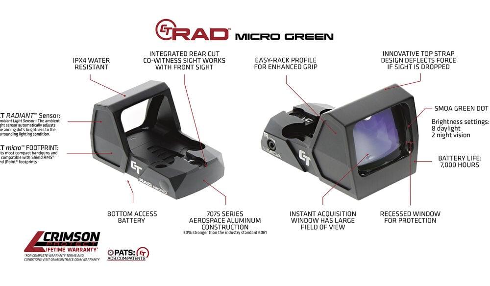 CT RAD™ MICRO (Green)