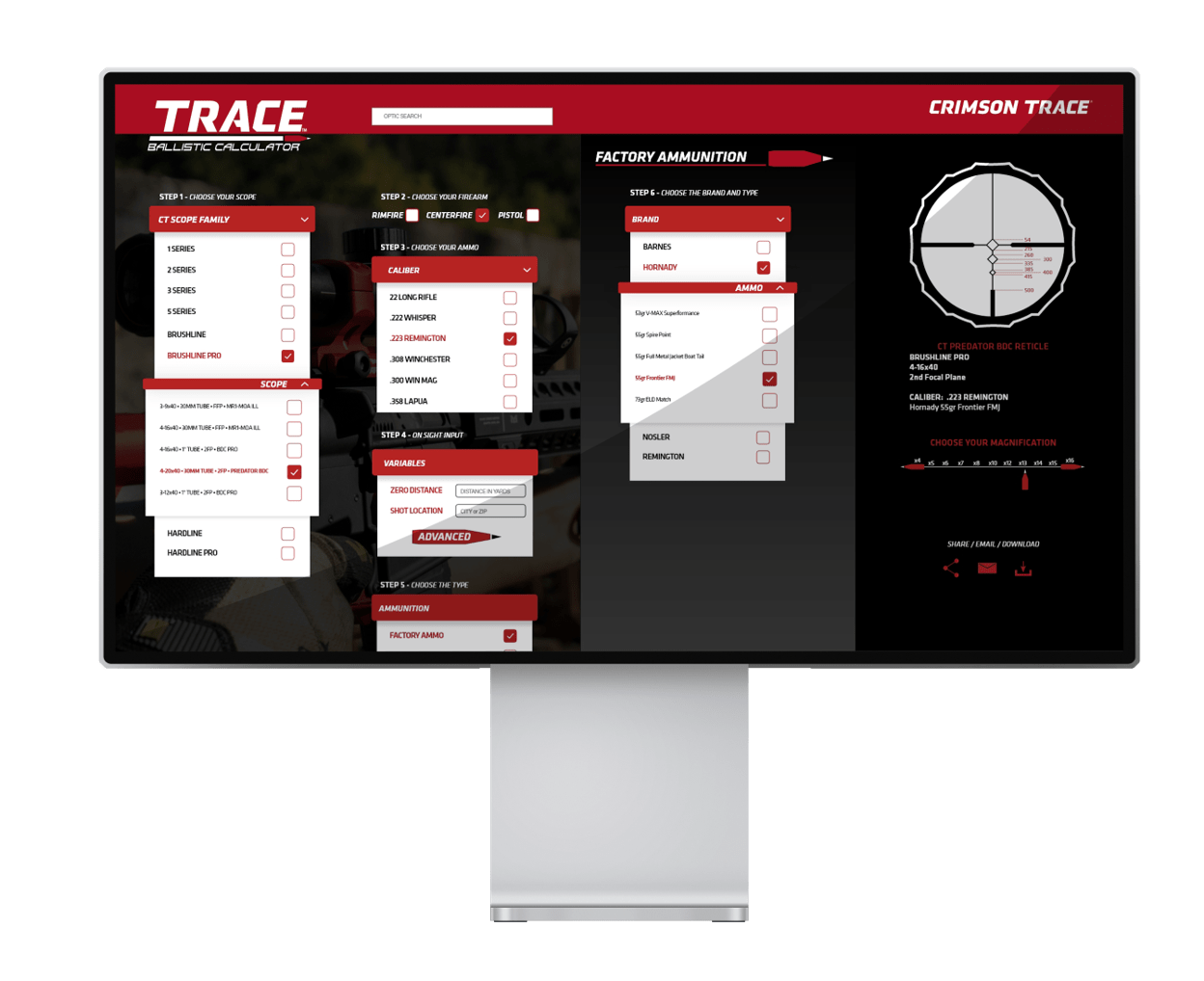 CT Trace Preview